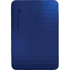 Sea to Summit Comfort Deluxe S.I. Liggeunderlag Dobbelt, blå